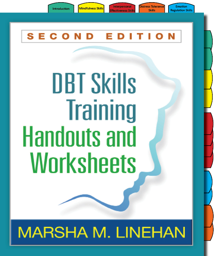 Adhesive Tabs for DBT Skills Training Handout and Worksheets ...